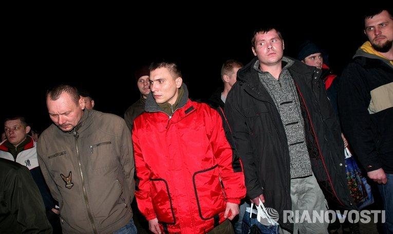 ДНР передала украинской стороне пленных силовиков