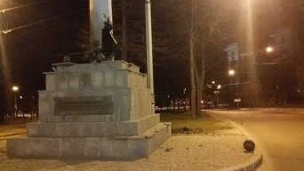 Разрушения в результате взрыва в Харькове