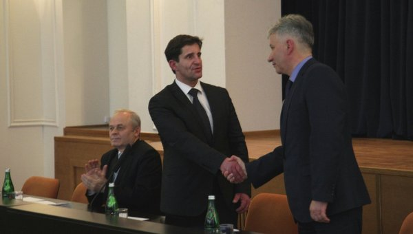 Шкиряк представил Чечеткина замглавы ГСЧС