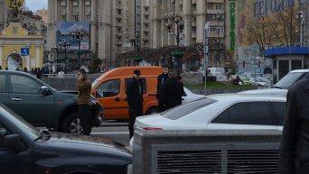 Сын Порошенко Алексей попал в ДТП