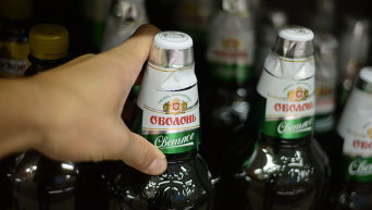 Пиво Оболонь. Архивное фото
