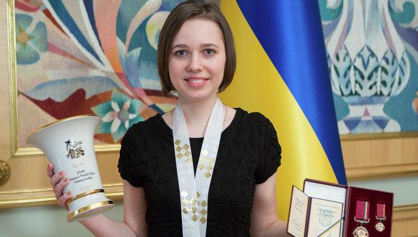 Во вторник украинская шахматистка Мария Музычук вернулась в Украину после победы на чемпионате мира, который состоялся в Сочи. В решающем поединке 22-летняя уроженка Стрыя одолела россиянку Марию Погонину.