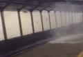 В Нью-Йорке станцию метро залило водой