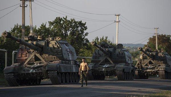 Будни украинских солдат в Иловайске, 15 августа 2014