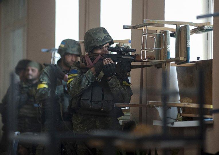 Иловайск - эпицентр войны, 27 августа 2014
