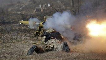 Военные учения в Житомире