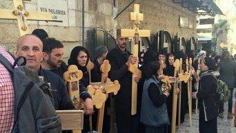 Страстная пятница в Иерусалиме