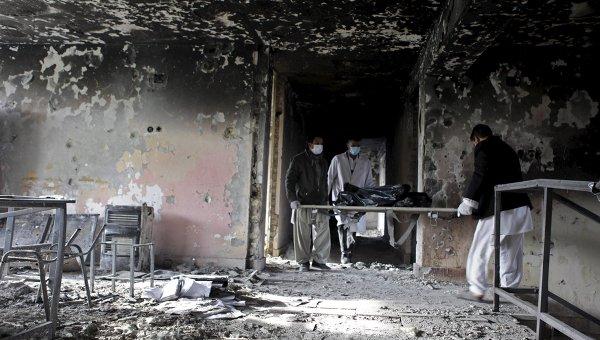 Последствия атаки талибов в Афганистане. Архивное фото