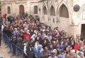 В Иерусалиме тысячи паломников собрались в ожидании Благодатного огня