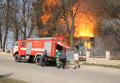 Пожар в храме в Тернопольской области. Видео