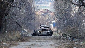 Район поселка Пески в Донецкой области
