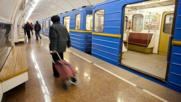 Метро столицы Украины в 2017-ом перевезло практически 500 млн пассажиров