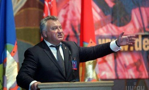 Олег Калашников выступает на конференции Послужим отчизне вместе
