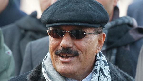 Президент Йеменской Республики Али Абдалла Салех прибыл в Москву с официальным визитом