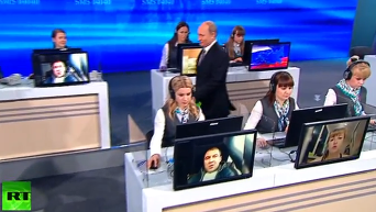 Прямая линия с Владимиром Путиным. Видео