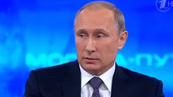 Путин об убийстве Олеся Бузины и Олега Калашникова