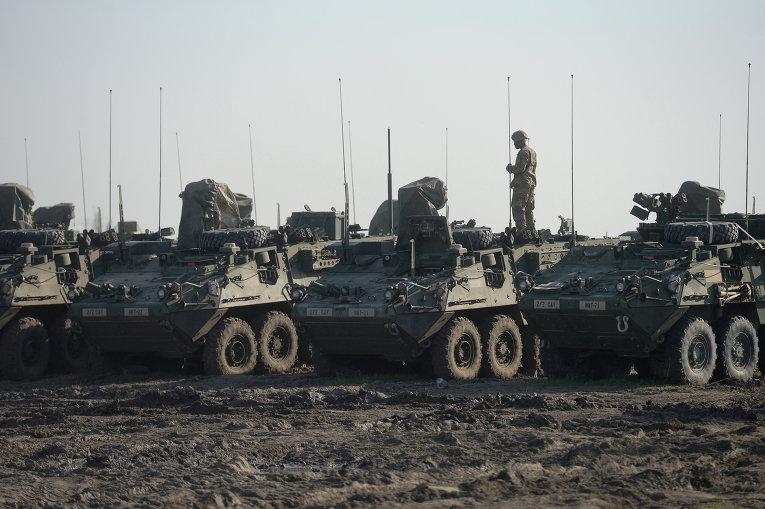 На границе с Украиной начались масштабные военные учения НАТО