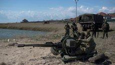 Украинские военные в Широкино. Архивное фото