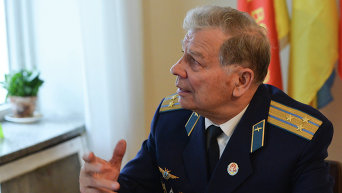 Председатель Киевской организации ветеранов Украины Николай Мартынов