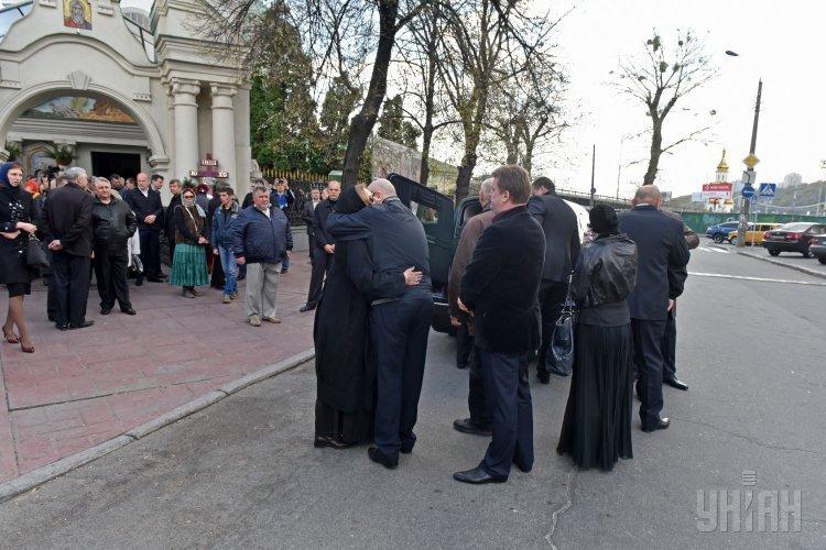 Церемония прощания с Олегом Калашниковым