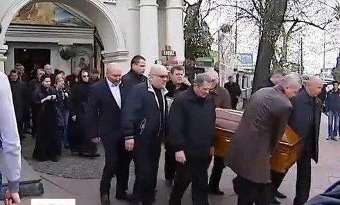 Похороны Калашникова. Видео