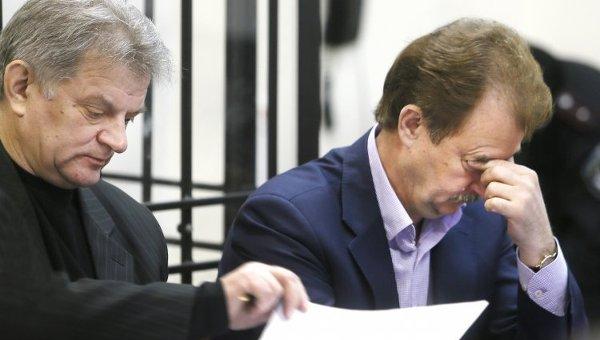 Александр Попов на заседании Шевченковского районного суда Киева