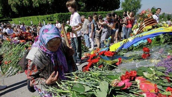 Празднование Дня победы в Киеве. Архивное фото