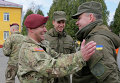 Американский и украинский военные на учениях Фиарлес Гардиан - 2015 во Львовской области