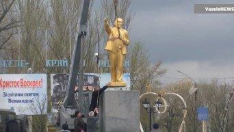 Возвращение золотого Ленина. Видео