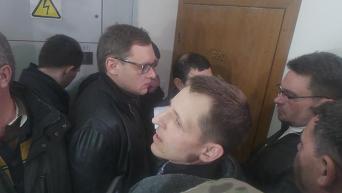МВД обыскало квартиру руководителя люстрационного департамента Минюста