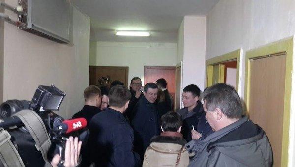 МВД обыскивает квартиру руководителя люстрационного департамента Минюста