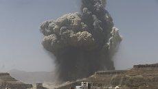 Последствия авиаударов по Йемену