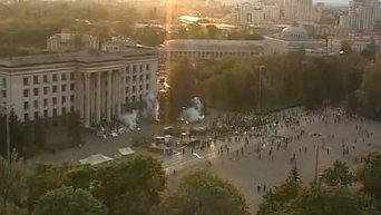 Пожар и события в Доме профсоюзов Одессы 2 мая 2014 года
