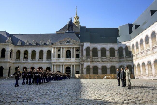 Визит Петра Порошенко во Францию