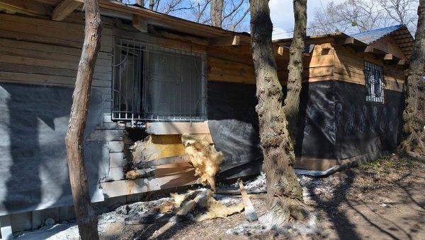 Поджог храма УПЦ МП в Киеве