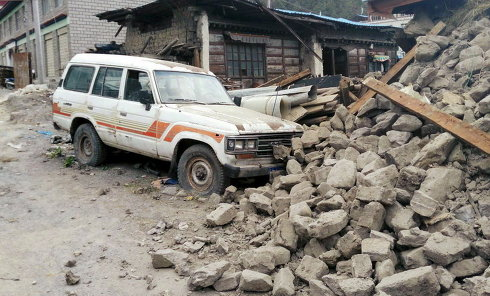 Землетрясение в Непале. Последствия