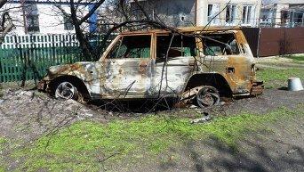 Линия разграничения в Донецкой области