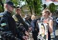 Митинг вкладчиков банков в Киеве