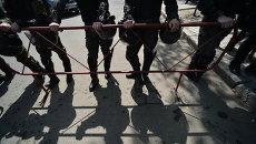 Работники милиции. Архивное фото