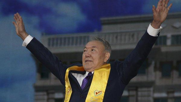 Действующий глава Республики Казахстан Нурсултан Назарбаев