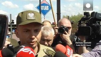 Ночные волки не смогли пересечь границу с Польшей