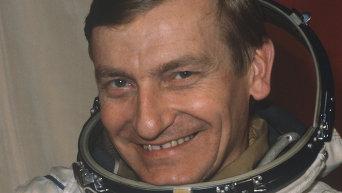 Польский космонавт Мирослав Гермашевский