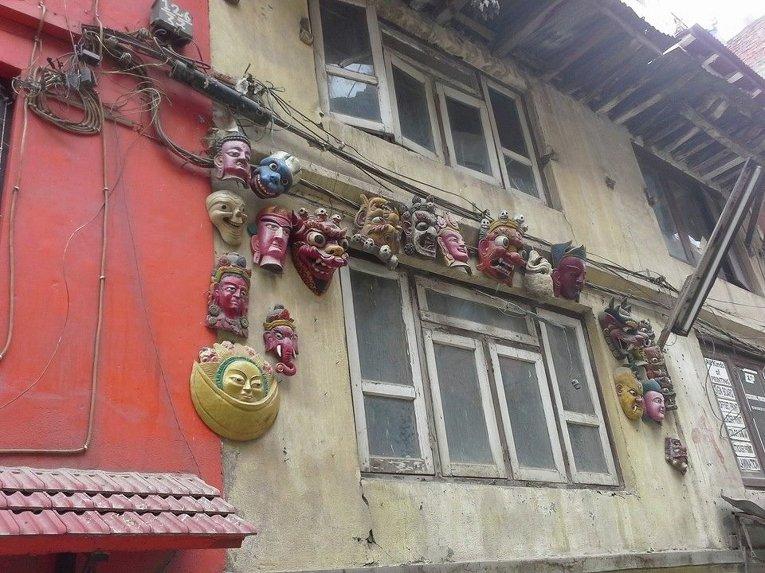 Столица Непала после разрушительного землетрясения