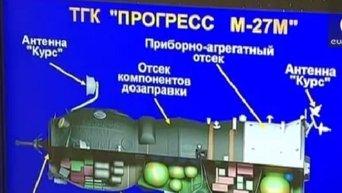Космический грузовик Прогресс ушел в неконтролированное падение