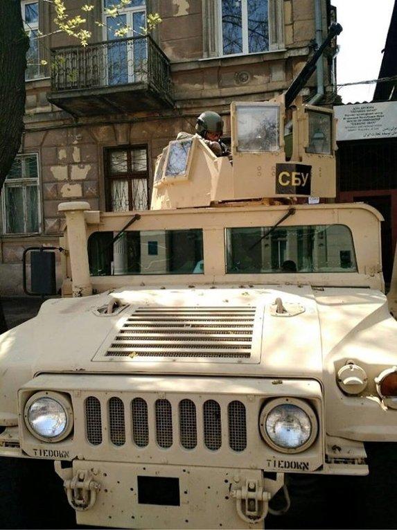 Спецтехника СБУ в Одессе
