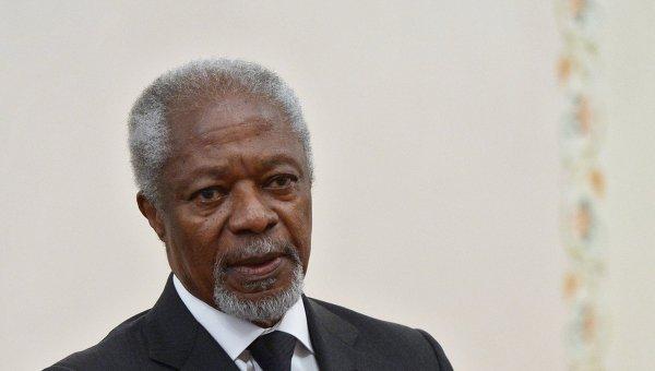 Бывший генсек ООН Кофи Аннан