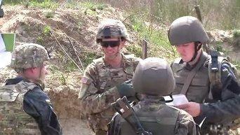 Американцы показали, как тренируют ВСУ на полигоне во Львовской области