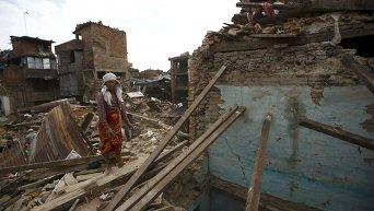 Разрушительное землетрясение в Непале: руины древнего города Бхактапур