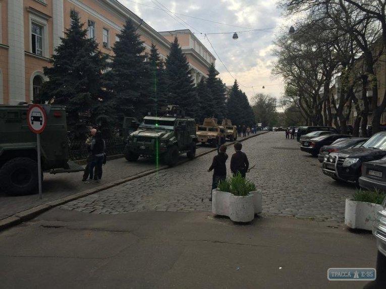 Бронированная техника в Одессе