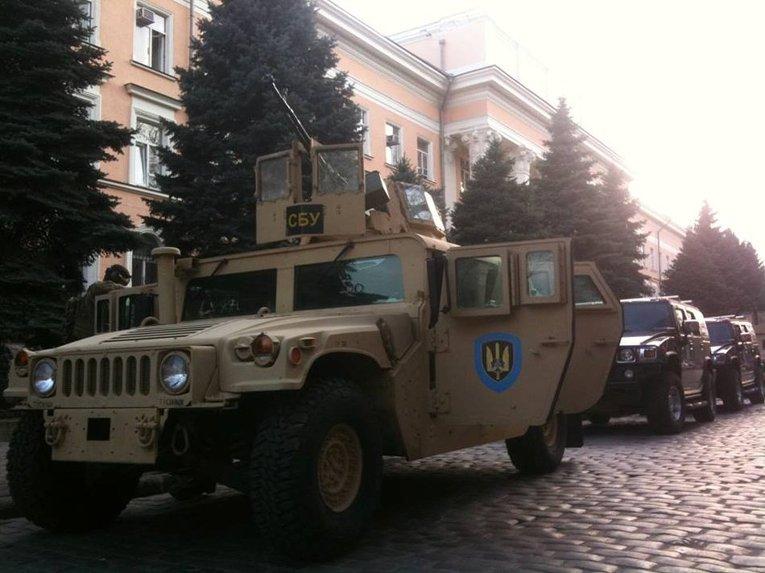 Военная техника СБУ в Одессе